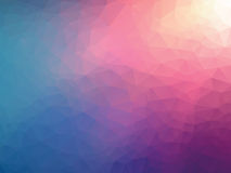Geometric pink blue background. Abstract geometric pink blue background vector illustration