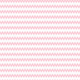 Geometric pink seamless pattern with zigzag Stock Images