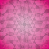 Geometric pink tones background patterns icon. Flat design geometric pink tones background patterns icon  illustration Stock Photo
