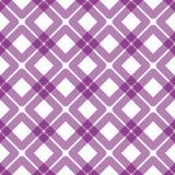 Geometric Plaid Squares Seamless Texture. Purple wine grid with squares over squares seamless background. Plaid picnic towel effect vector illustration