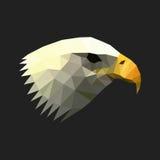 Geometric polygon eagle illustration Stock Photo