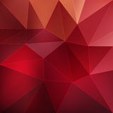 Geometric polygonal background Stock Image