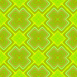 Geometric psychedelic sixties pattern Royalty Free Stock Images