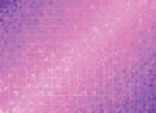 Geometric Purple Backgrounds. Royalty Free Stock Images