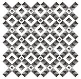 Geometric - pyramid pattern Stock Photography