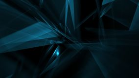 Triangle abstract chaos shapes, new tech background vector illustration