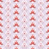 Geometric red, burgundy, pink and white illustration with triangles. vector illustration