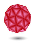 Geometric red Stock Photography