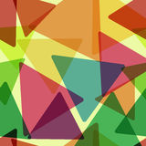 Geometric retro background. Royalty Free Stock Images