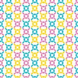 Geometric retro geo shape seamless pattern. All over print vector background. Pretty summer 1950s lace tile fashion style. Trendy. Lacy wallpaper, vintage home royalty free stock photography