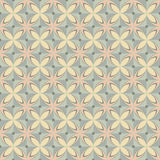 Geometric retro pattern. Geometric seamless retro pattern in pastel colors Stock Images