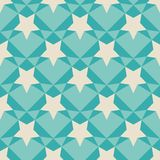 Geometric retro pattern. Stock Images
