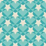 Geometric retro pattern. Stock Images
