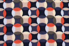 Geometric retro pattern textile Stock Photo