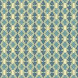 Geometric Retro Pattern Royalty Free Stock Image