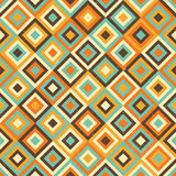 Geometric retro seamless pattern royalty free illustration