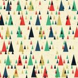 Geometric retro seamless pattern. Vector Royalty Free Stock Photo