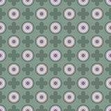 Geometric Retro Wallpaper Seamless Pattern Royalty Free Stock Image
