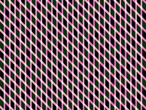Geometric rhombus patterns abstract background pink white green black colors. Geometric pattern background. Geometric rhombus patterns abstract background pink Royalty Free Stock Images
