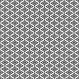 Geometric rhombus seamless pattern.Fashion graphic design.Vector illustration. Background design.Optical illusion 3D. Modern styli Stock Photography