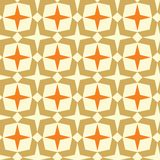 Geometric seamless abstract pattern Royalty Free Stock Image
