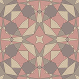 Geometric seamless abstract pattern Stock Photography