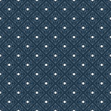 Geometric seamless abstract pattern. Vector seamless pattern. Modern stylish texture. Repeating geometric tiles with dotted rhombus stock illustration