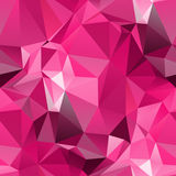 Geometric seamless background. Abstract 3D polygonal pattern Stock Images
