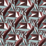 Geometric seamless background. Royalty Free Stock Photos