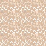 Geometric seamless background. Brown wallpaper Stock Image