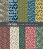 Geometric seamless background. Illustration of geometric seamless background Royalty Free Stock Images