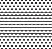 Geometric seamless black and white pattern Royalty Free Stock Photography