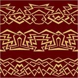 Geometric seamless border Royalty Free Stock Image