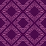 Geometric seamless floral Wallpaper. Royalty Free Stock Photography
