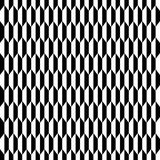 Geometric seamless monochrome  pattern Stock Photos