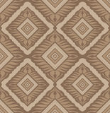 Geometric seamless ornament Royalty Free Stock Images
