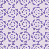 Geometric seamless ornament lavender palette Royalty Free Stock Photo