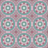 Geometric seamless ornament pattern Royalty Free Stock Photography