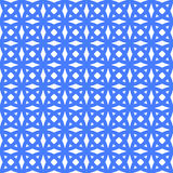Geometric seamless ornament pattern. Vector background. Blue geometric seamless ornament pattern. Vector background Royalty Free Stock Photography
