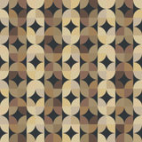 Geometric seamless parquet pattern. Stock Images