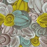 Geometric seamless pattern royalty free illustration