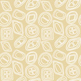Geometric seamless pattern Stock Photography