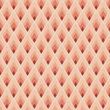 Geometric seamless pattern. With red lozenges Stock Photo