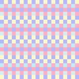 Geometric seamless pattern, abstract background. Checkered design, multicolored squares in pastel colors. For the  of. Geometric seamless pattern, abstract Royalty Free Stock Image