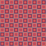 Geometric seamless pattern, abstract background. Checkered design, squares, optical illusion. For the  of wallpaper Stock Photos