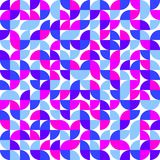 Geometric seamless pattern. Abstract retro background royalty free illustration