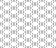 Geometric seamless pattern in asian style Stock Image