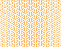Geometric seamless pattern in asian style Stock Photos