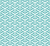 Geometric seamless pattern in asian style Royalty Free Stock Image