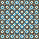 Geometric seamless pattern background Royalty Free Stock Photography